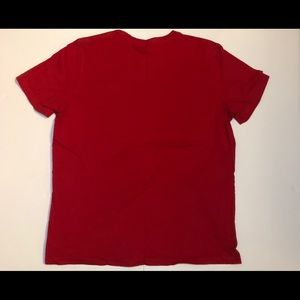Tommy Hilfiger tee size large (red)